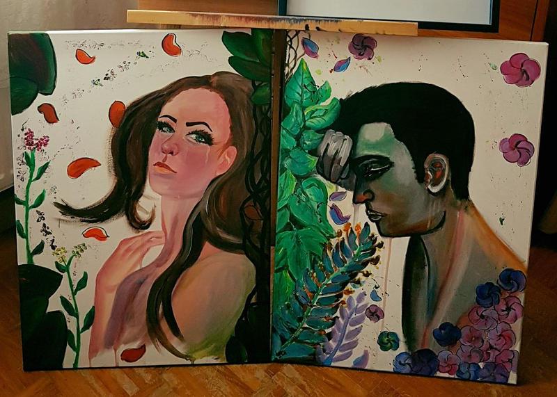 Solitude I and II by GiovyLoCa