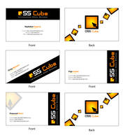 OSS Cube Business Card design by dark-blast