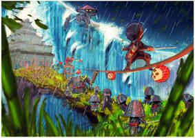 Mini Ninjas by dark-blast