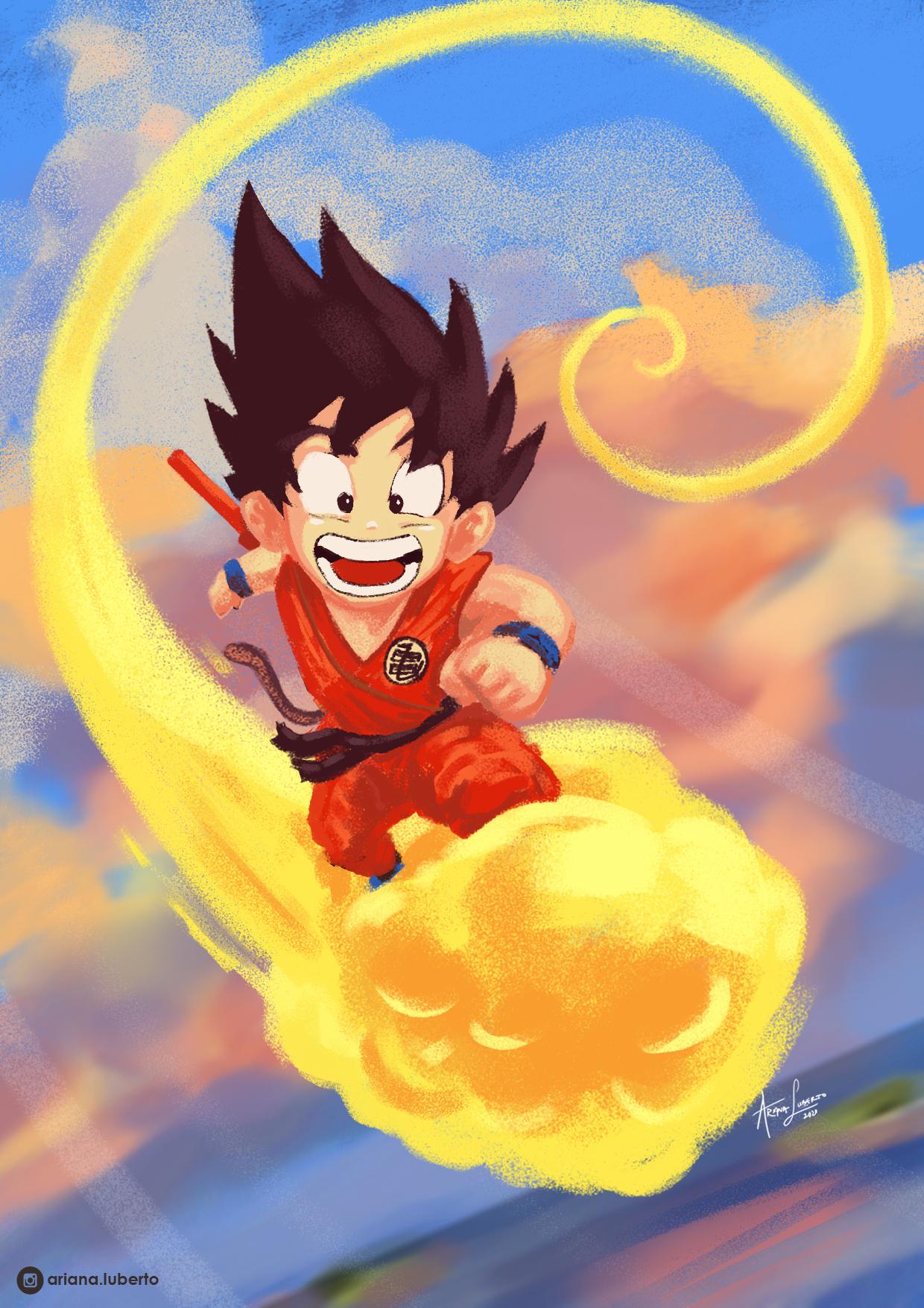 Goku oh happy day!