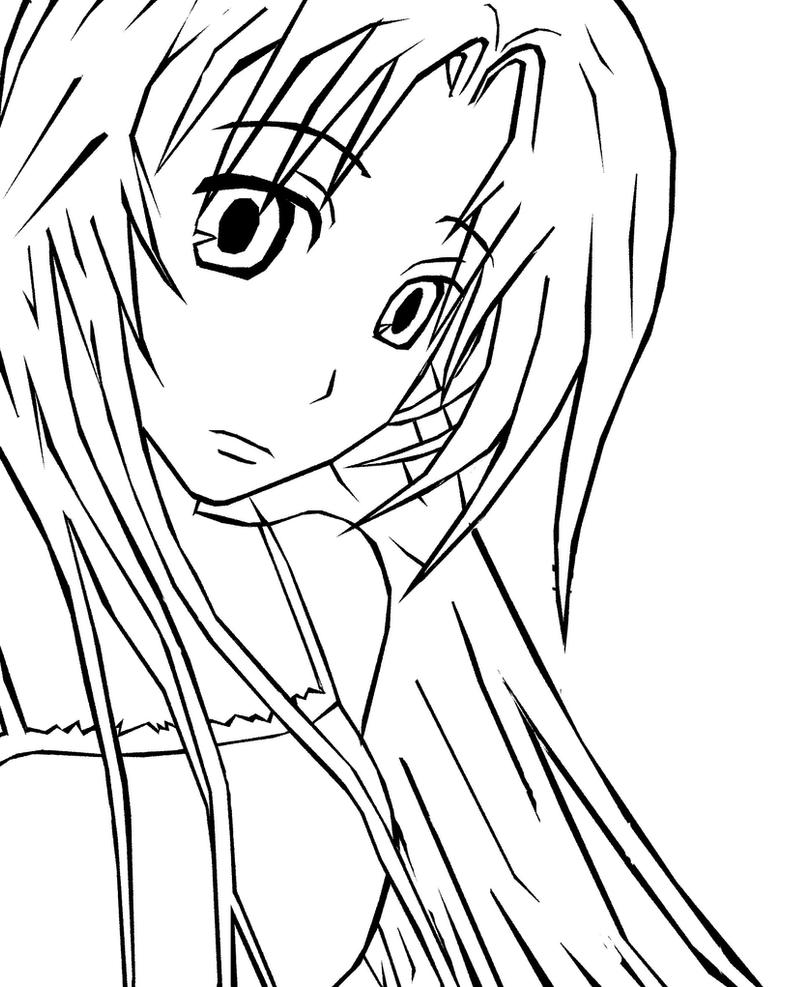 Line Art Manga : Manga line art by sukaima on deviantart