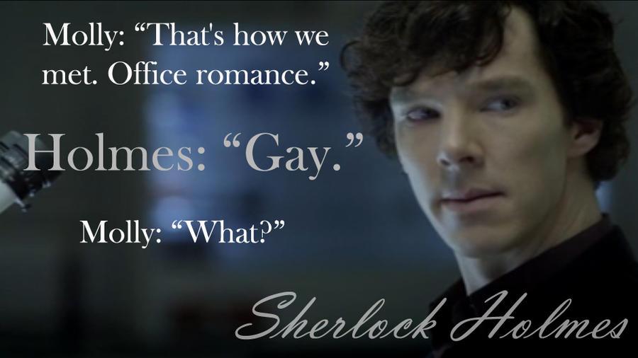 is sherlock gay