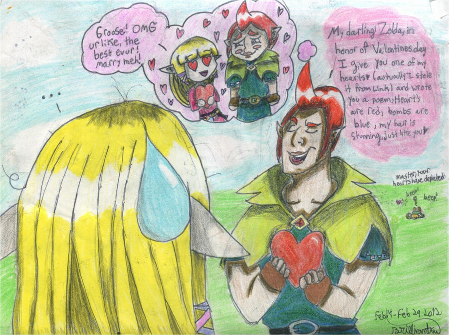 Legend Of Zelda Valentineu0027s Day By Brilliantku ...