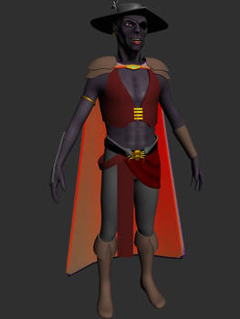 Jarlaxle 3D 'Unfinished'