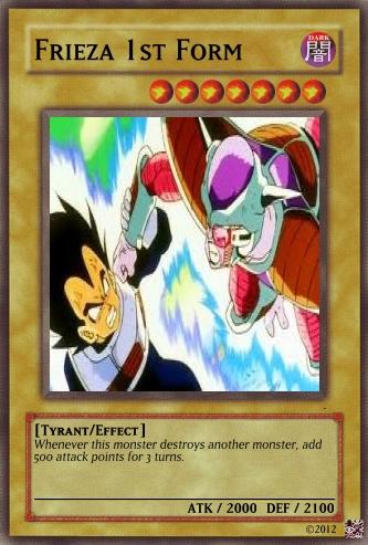 Frieza (1st form) Card by FinalBangGun on DeviantArt