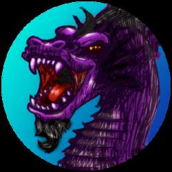 Purple Dragon Pog