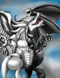 Light and Darkness Dragon