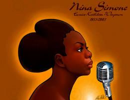 Nina Simone by KarinaDale