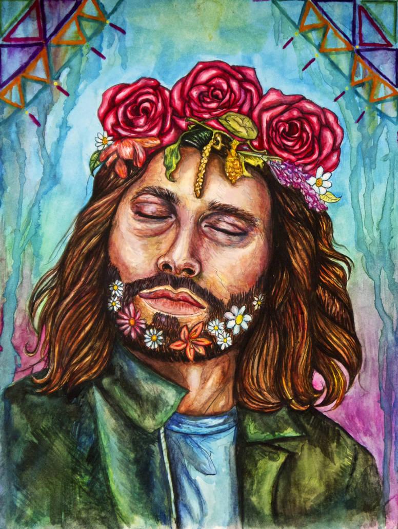 Jim Morrison of the Doors by MicaelaMagica