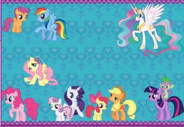 Mlp Card by lilymouse385