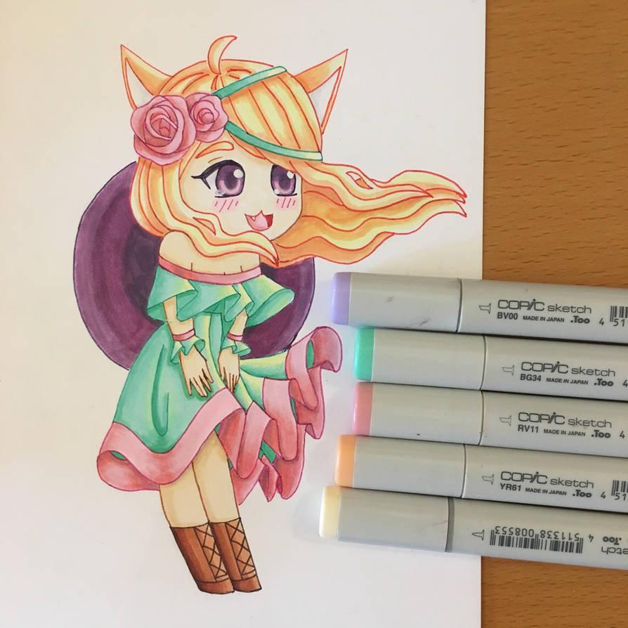 Fox Girl by mws26 on DeviantArt