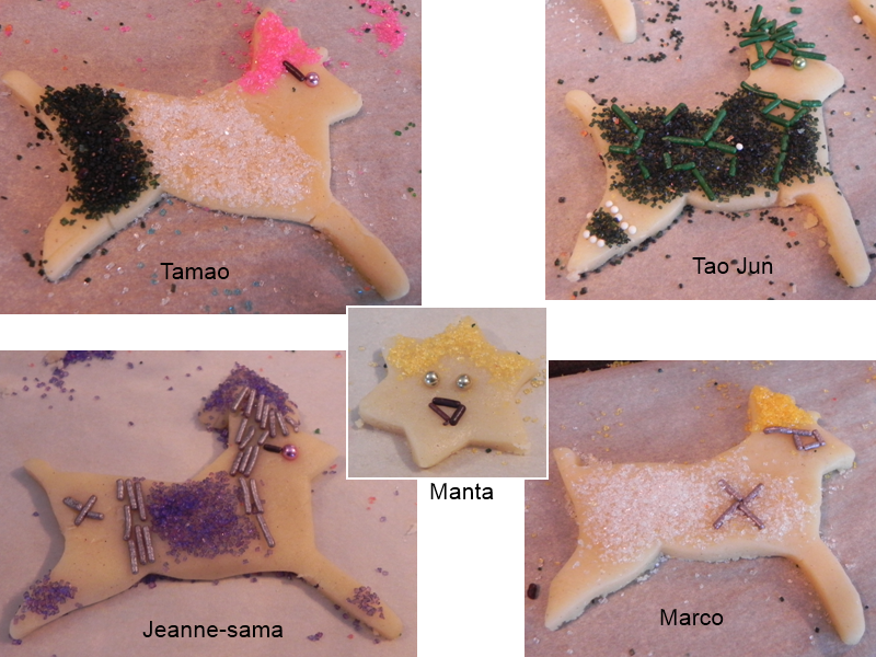 Tamao - Jun - Manta - Jeanne - Marco by TDI-luver-4eva