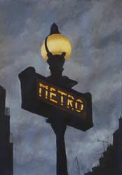 Metro by bertoltus
