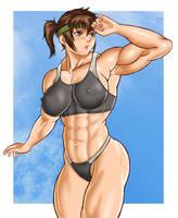 Akiko Daimon2 by Issei06