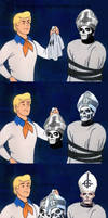 Freddy unmasks Papa... Somewhat.