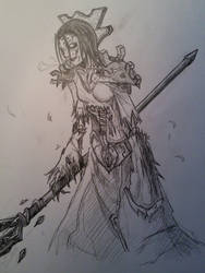 Undead mage by mika426