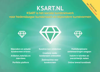 Voorkant KSART.nl flyer by GMAC06