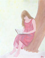 Girl Reading+ by GMAC06