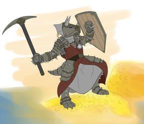 Dolk Sea Drake Fight Pose