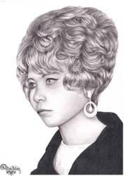 A portrait of a girl by RainbowNatalia