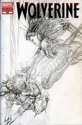 Weapon X VS Lady Deathstrike Pencils