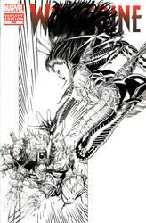 Weapon X VS Lady Deathstrike Inks