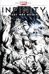 Thanos VS Hulk Inks