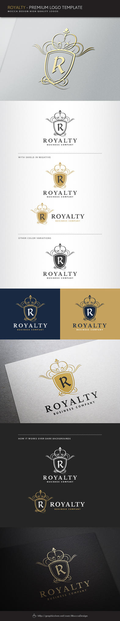 Royalty Logo by moccadsgn