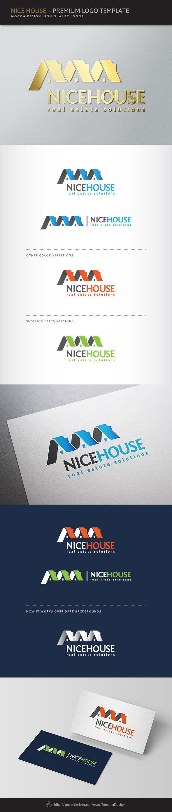 NiceHouse Logo by moccadsgn