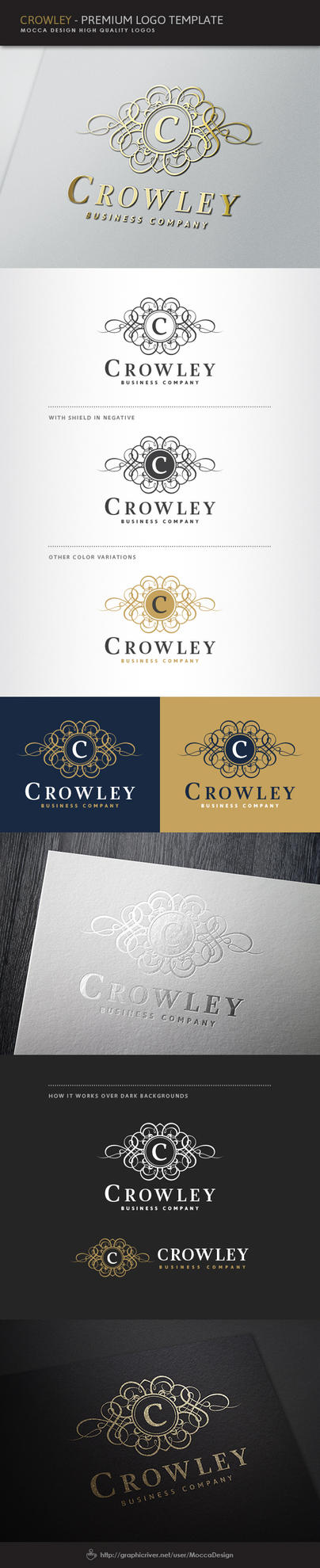 Crowley Logo by moccadsgn