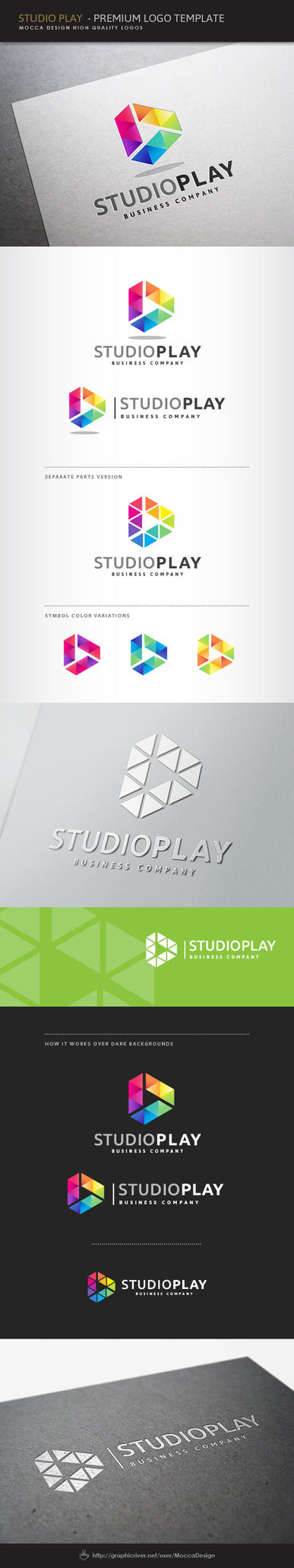 Studio Play Logo by moccadsgn