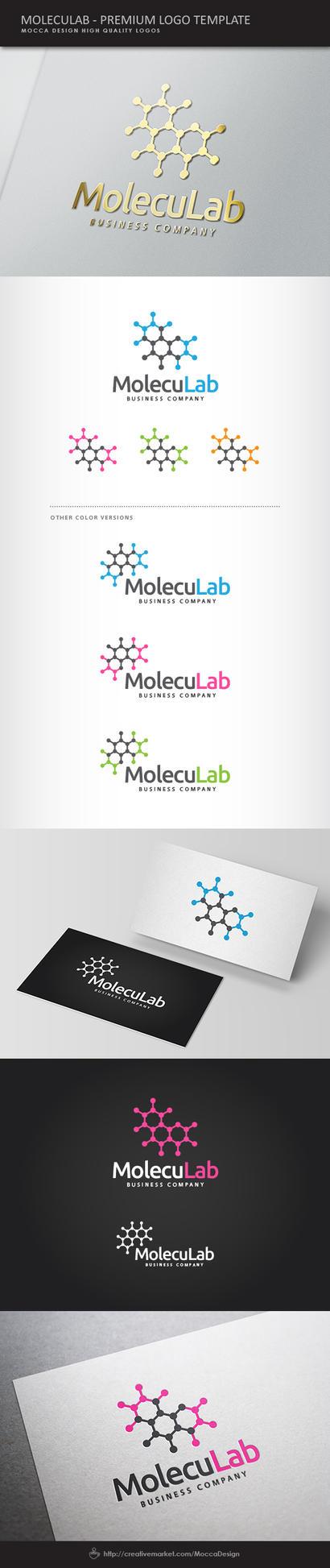 Moleculab Logo by moccadsgn