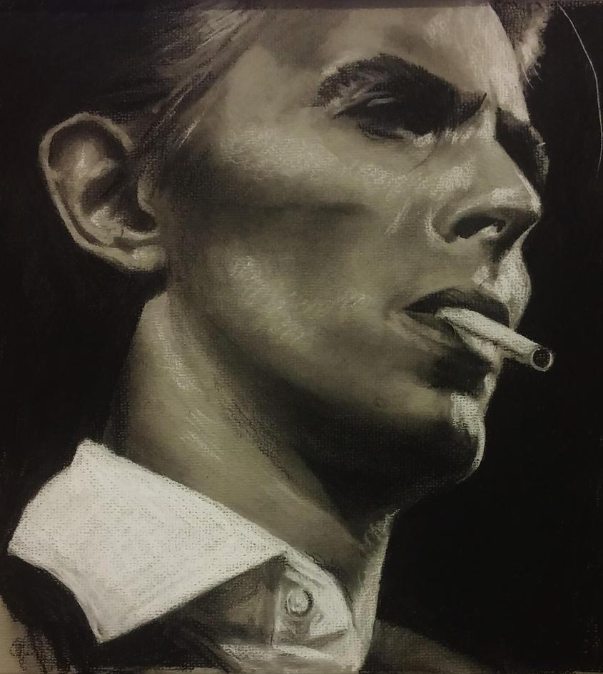 David Bowie by stef-g