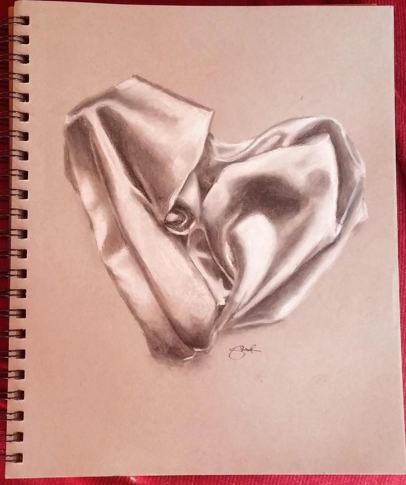 Silk Heart by stef-g