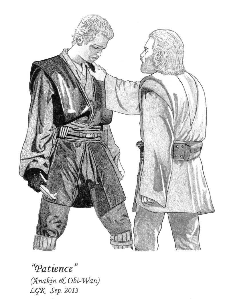 Patience (Anakin, Obi-Wan) by ElfofCave
