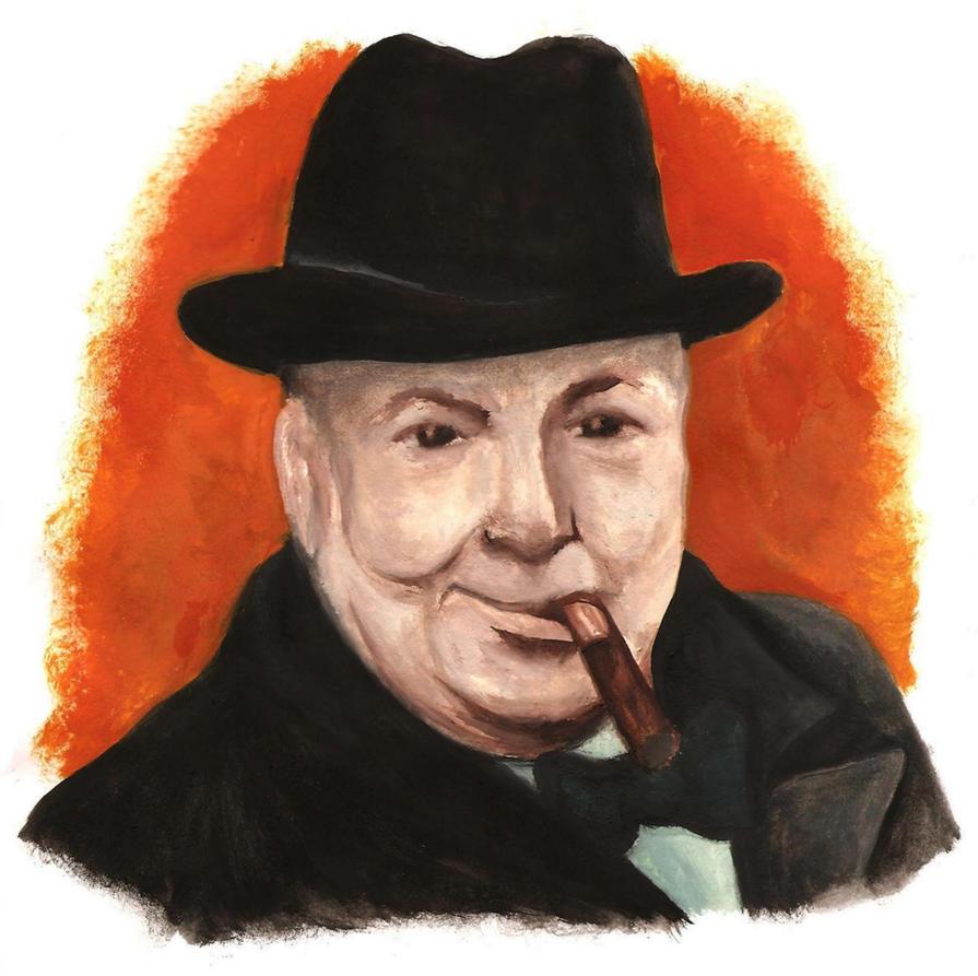 Picture Winston Churchill Quo: Winston Churchill By HerHH-Idiot On DeviantArt