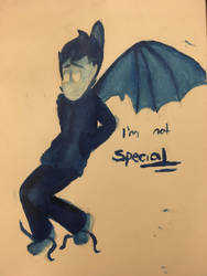 I'm not special by Sweetsilverowl