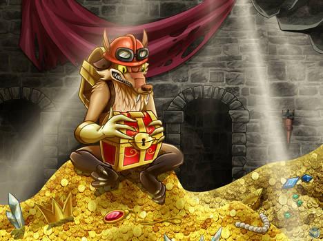 Rat with treasure