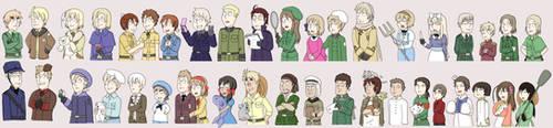 Hetalia Family guy style by Alikurai