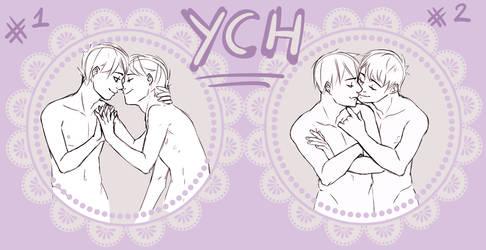 [YCH] Valentine huggies -CLOSED- by Alikurai