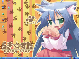Lucky Star Wallpaper by Wolfang-Kamiro