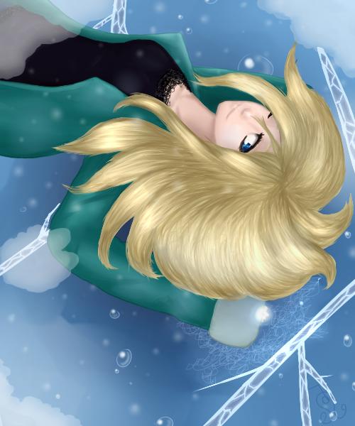The Ice Spirit by Vanghira