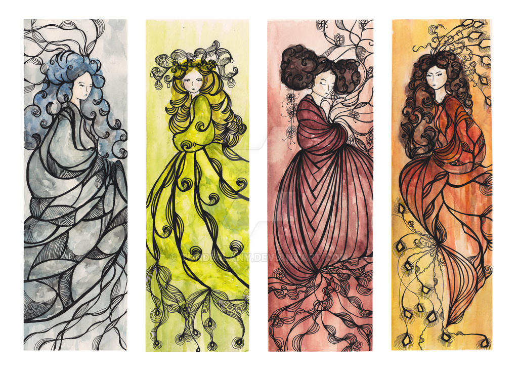 Four Seasons by tunderlany