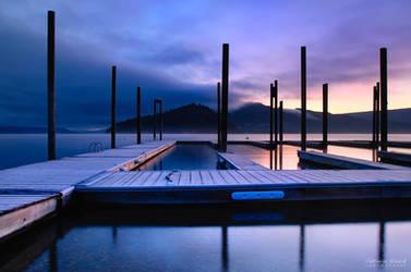 geometric dawn by islandtime
