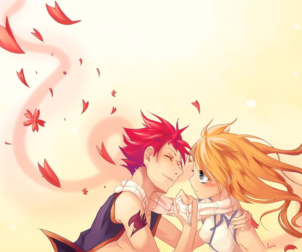 Natsu and Lucy :3 by Rejuvenesce on DeviantArt