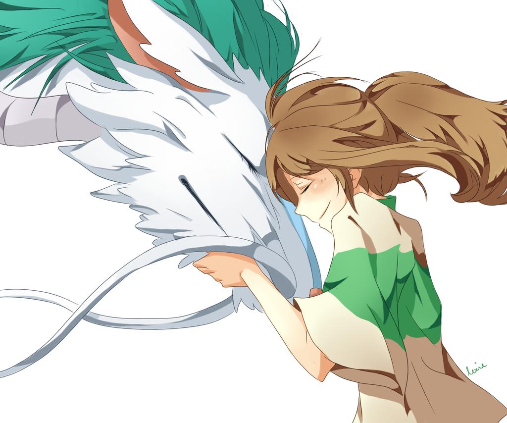 Chihiro and Haku by Re...
