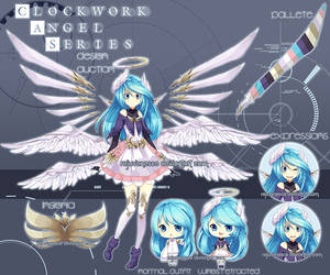 [CLOSED] Clockwork Angel Adopt by Rejuvenesce