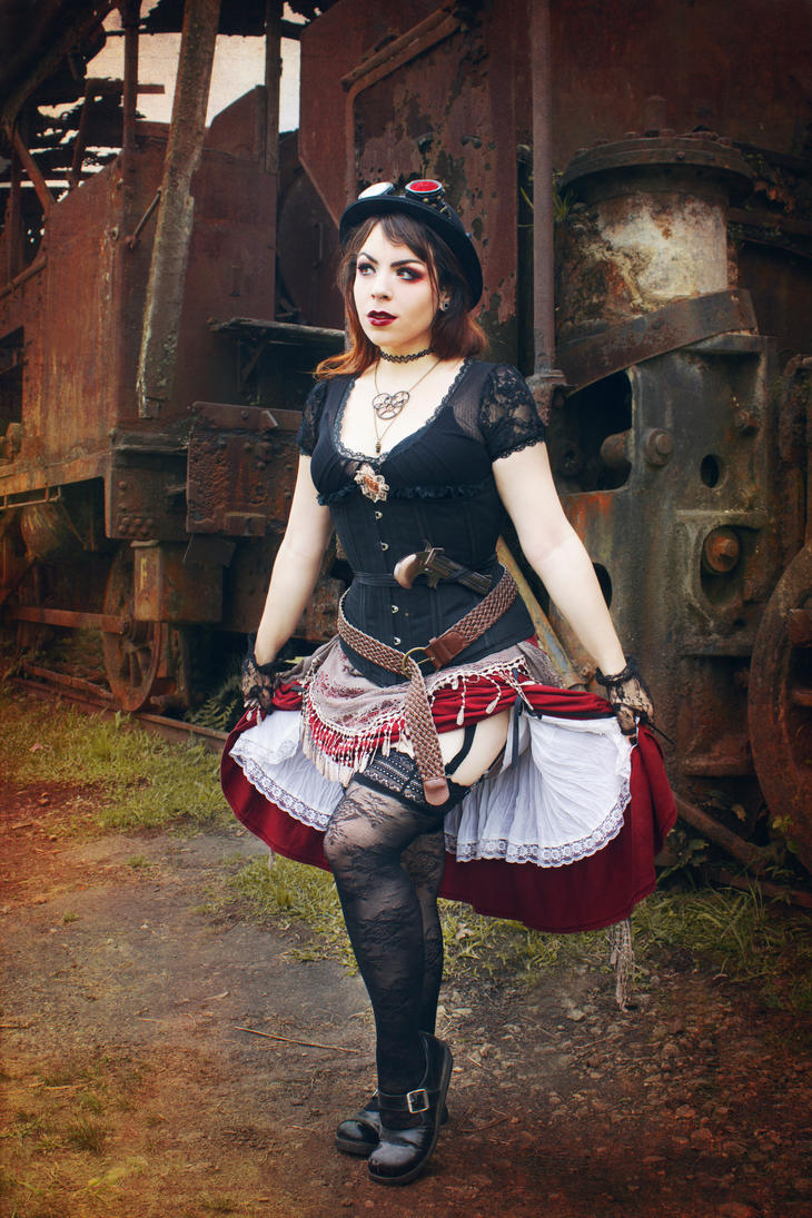 Girl of Steampunk by puppetmissing