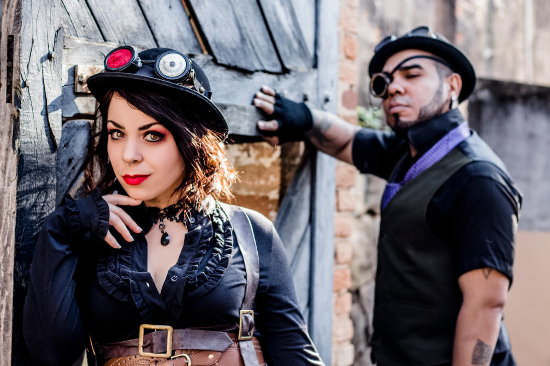 Steampunk league by puppetmissing