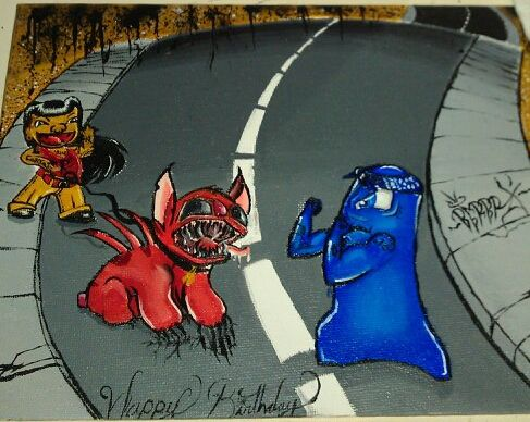 Bloods Vs Crips By Prof Barb On Deviantart